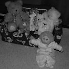 Stuffed teddys and toys  by bobby1