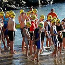 Kingscliff Triathlon 2011 Swim leg C251 by Gavin Lardner
