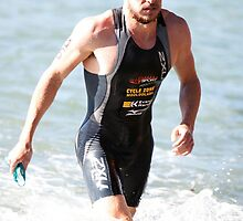 Kingscliff Triathlon 2011 Swim leg C347 by Gavin Lardner