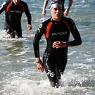 Kingscliff Triathlon 2011 Swim leg C368 by Gavin Lardner