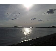 Silver sunset over the Shannon Photographic Print