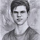 Taylor Lautner by thedrawinghands