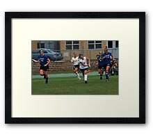 091611 118 0 field hockey Framed Print
