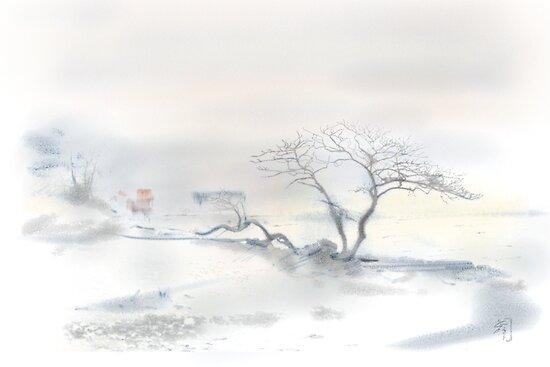 """Scots Pine"", Fårösund, Gotland, by Gréta Thórsdóttir"