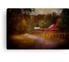 Farm - Barn - Rural Journeys  Canvas Print