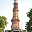 Qutab Minar (an ancient Mughal architecture) by Mudit&#x27;s Photography