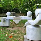 Marble Bench by Martha Andreatos
