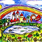 A Princess Fairy Forest by Monica Engeler