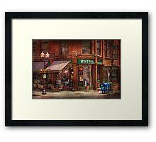 Store - Albany, NY - The Bayou Framed Print
