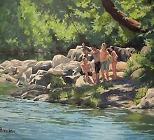 Summer Days by Karen Ilari