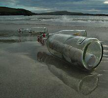 trois bouteilles à la mer by NordicBlackbird
