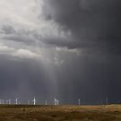 Funny old storm over the wind farm... by anniek1947