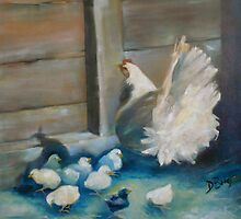 Baby Chicks by Jenny Hambleton