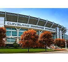 Cleveland Browns Stadium - Cleveland, Ohio Photographic Print