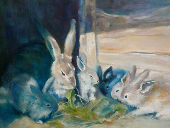 Bunny Picnic by Jenny Hambleton