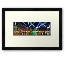 City of Lights • Brisbane Framed Print