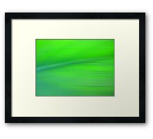 Pretty Green Framed Print