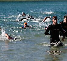 Kingscliff Triathlon 2011 Swim leg C381 by Gavin Lardner
