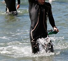 Kingscliff Triathlon 2011 Swim leg C386 by Gavin Lardner