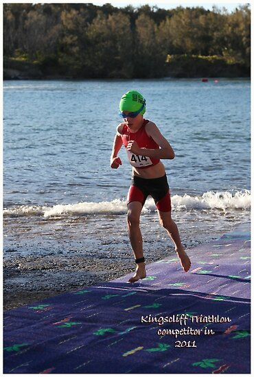 Kingscliff Triathlon 2011 Swim leg P115 by Gavin Lardner