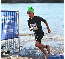 Kingscliff Triathlon 2011 Swim leg P116 by Gavin Lardner