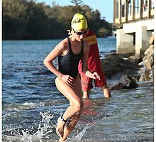 Kingscliff Triathlon 2011 Swim leg P156 by Gavin Lardner