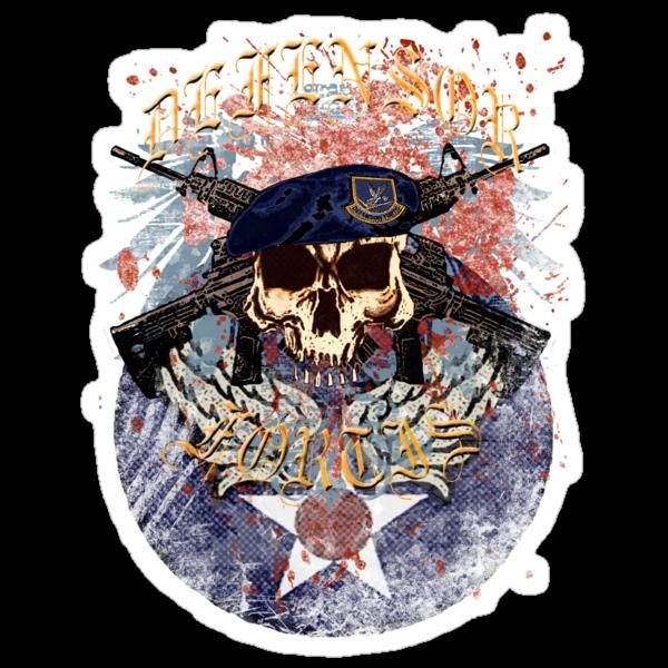 Defensor Fortis Skull Urban by ZeroAlphaActual