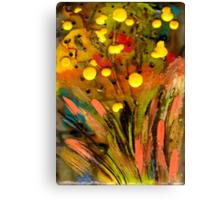 Yellow buds Abound Canvas Print