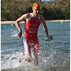Kingscliff Triathlon 2011 Swim leg P249 by Gavin Lardner