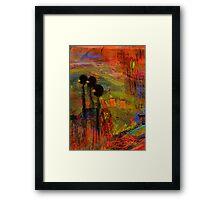 Admiring God's Handiwork I Framed Print