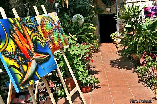 Open Studio Exhibition by Nira Dabush