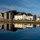Reflections of the Claddagh, Galway City. Ireland by JoeTravers