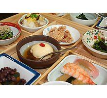 Japanese Dish Photographic Print
