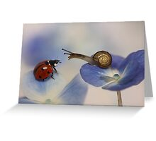 Very nice to meet you! Greeting Card