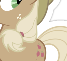 Applejack lies Sticker