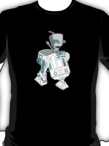 Two little robots - colour version T-Shirt