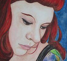 Enemy of Mine, Self Portrait by AngiePi