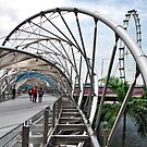 The Helix Bridge by Adri  Padmos