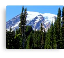 Mount Rainier from Paradise Canvas Print