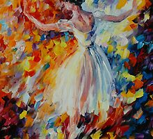THE SYMPHONY OF DANCE - LEONID AFREMOV by Leonid  Afremov
