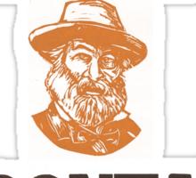 Beware Werewolf! Walt Whitman Sticker