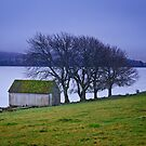 Lochindorb Boat Shed by Christopher Thomson