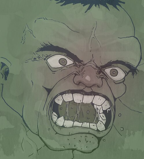 Hulk Smash! by Damien Mason