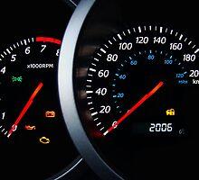 Car dashboard. by FER737NG