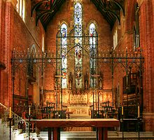 Inside St Georges Cathedral, Perth by Christine Smith