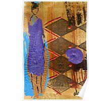 My New Purple Dress Poster