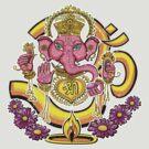 Ganesh t-shirt by Jacqueline Gwynne