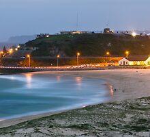 Nobbys Beach by Mathew Courtney