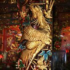 Gold Phoenix, Mythical Creature, Kuching, Sarawak by Jane McDougall