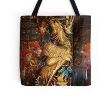 Gold Phoenix, Mythical Creature, Kuching, Sarawak Tote Bag